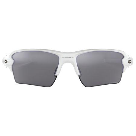 83bf2fa5e8701 Óculos de Sol Oakley Flak 2.0 XL 0OO9188 76 59 Branco Polido Lente Preto  Polarizado
