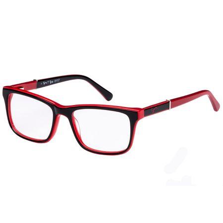 3ee6db83ef9ab Óculos de Grau Tigor T Tigre VTT069 C2 48 Preto Vermelho