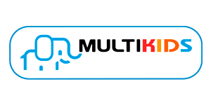 Logotipo Multikids (fundo claro)