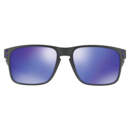 19bd8b6e91 Óculos de Sol Oakley Holbrook Mix 0OO9384 02 57 Grafite Lente Violeta  Espelhado - mmplace
