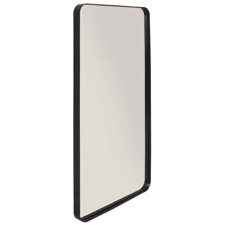 Espelho Retangular Pereque Preto 80 cm (ALT) 41461 Sun House