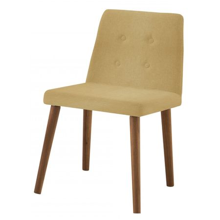 Cadeira Flan Areia Base Castanho 50726 Sun House