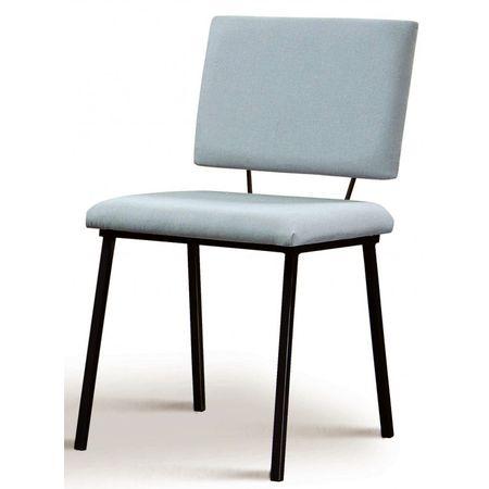 Cadeira Preciosa Cinza Base Preta 50730 Sun House